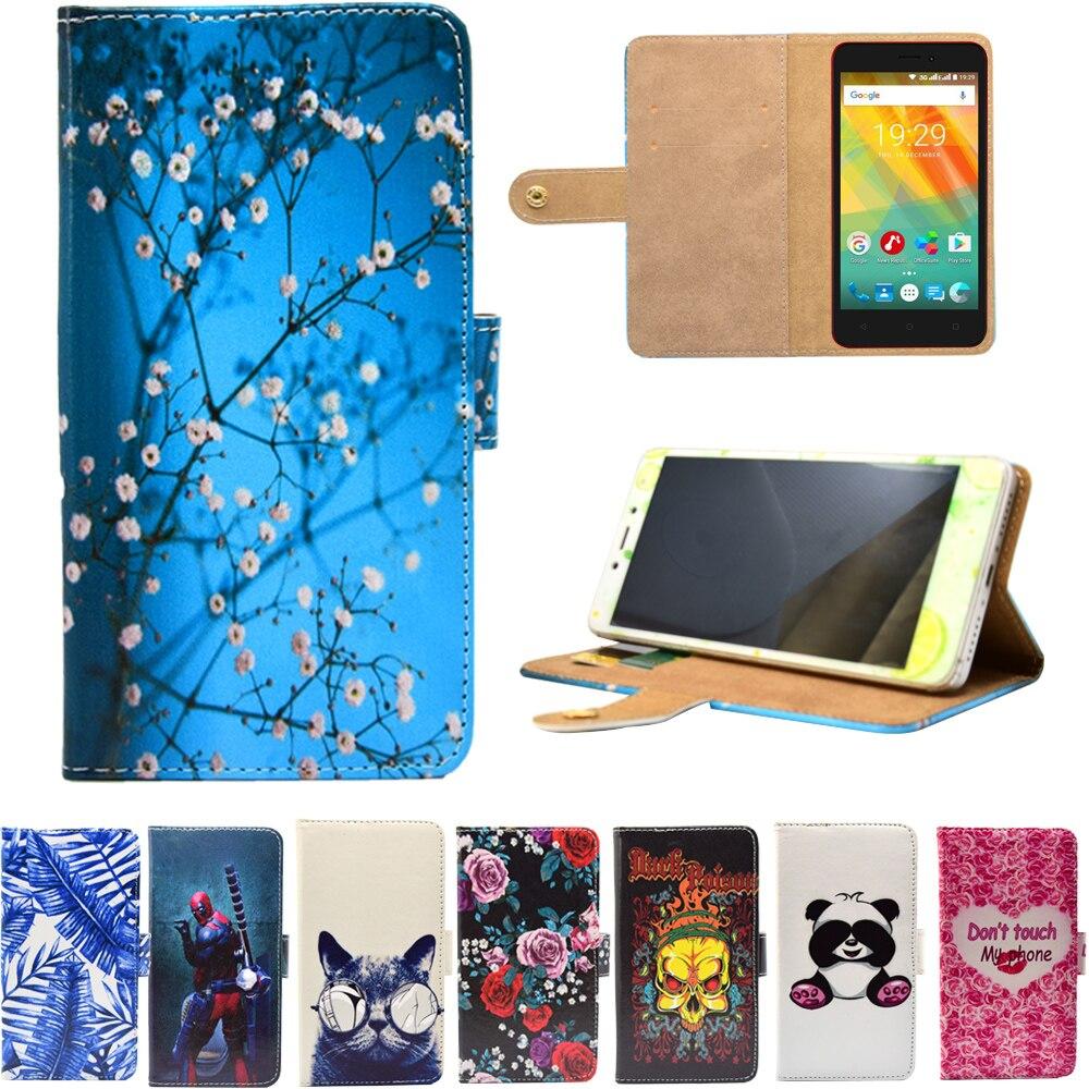 Phone Bags & Cases Flip Cases Flip Case Shell Cover For Prestigio Muze A7 Shell Cover For Prestigio Grace X7 X5 Fashion Leather For Prestigio Wize L3 O3 C3