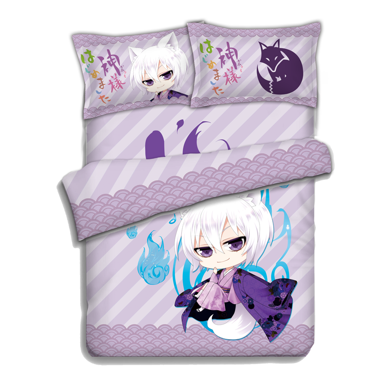 Anime Kamisama Love Kamisama Kiss Tomoe Bed Sheets Bedding Sheet Bedding  Sets Bedcover Quilt Cover Pillow Case 4PCS In Bedding Sets From Home U0026  Garden On ...