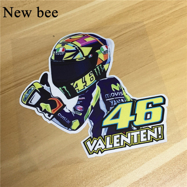 Newbee Cm Moto GP Reflective Vinyl Motorcycle Decal D Car - Motorcycle helmet decals graphicsreflectivedecalscomour decal kit on the bmw systemhelmet