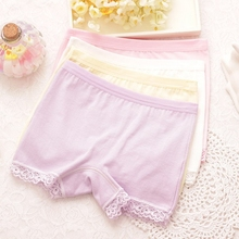 682f9d4dc 4 pcs lot boxer pure cotton The children s underwear pants for girls All  for the children s clothing girls underwear lace 2080