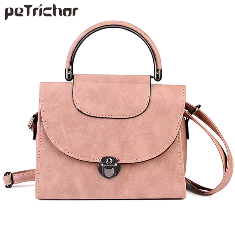 Shoulder Bag Ladies PU Leather Handbag Women Messenger Crossbody Small Bags Fashion Lock Female Evening Party Clutches
