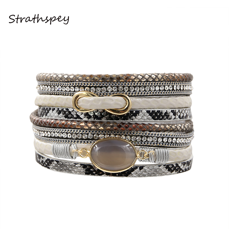 STRATHSPEY Moda Femei La modă strasuri Simplu semirecoperit - Bijuterii de moda