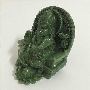Image 3 - גנש פסל פיל אלוהים בודהה פיסול פסלון מעשה ידי אדם אבן מגולף דקורטיבי פסלי עיצוב הבית Fengshui מתנה