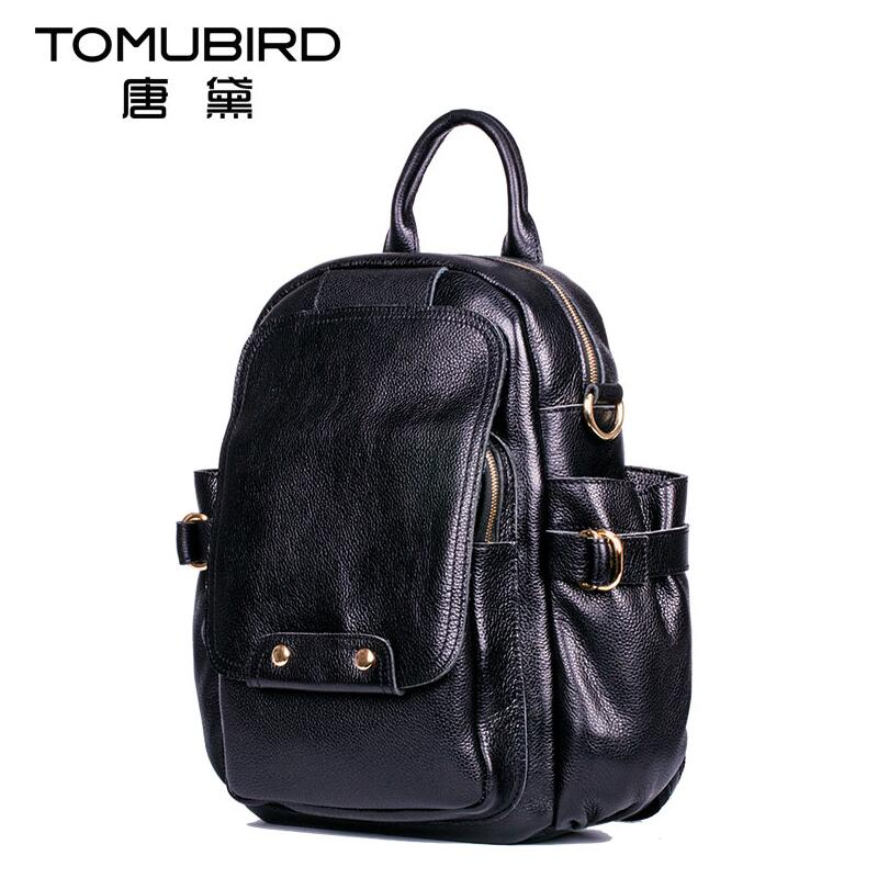 TOMUBIRD superior leather designer bags famous brand women bags 2017 new fashion leisure women genuine leather bagkpack