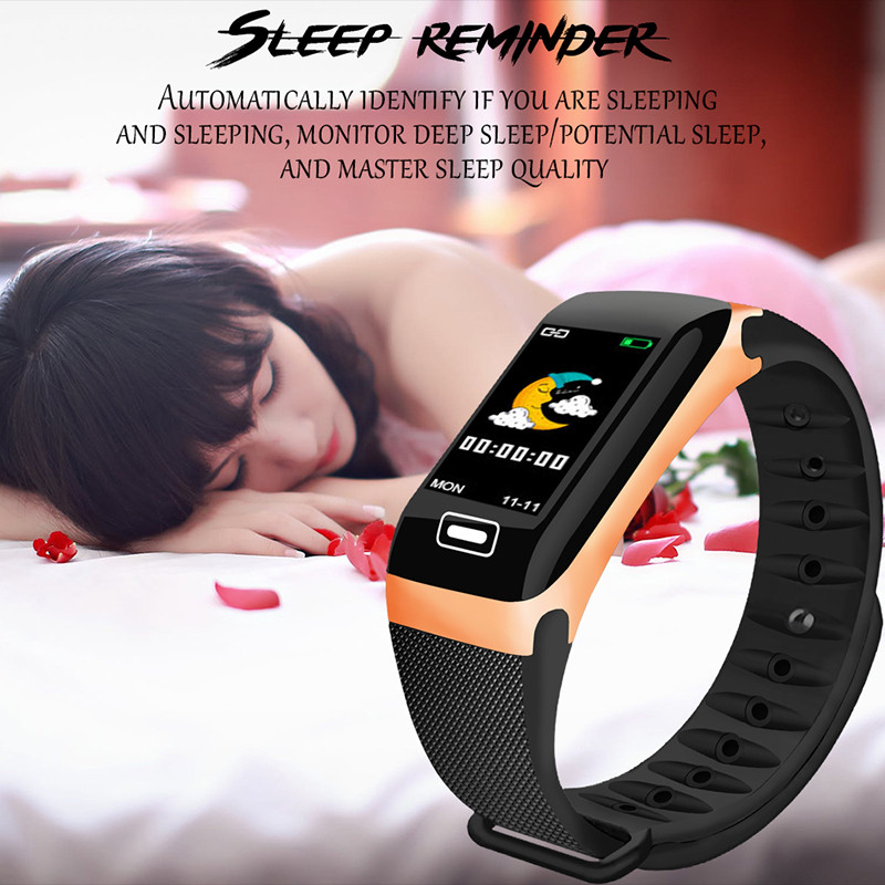 Image 5 - LIGE Smart Bracelet Health Monitor Heart Rate / Blood Pressure / Waterproof Pedometer Men's and Women's Watches Sports Bracelet-in Smart Wristbands from Consumer Electronics