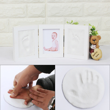 Baby Souvenirs Air Drying Modeling Clay Handprint Footprint Imprint Casting Hand Footprint Makers Novelty Interesting