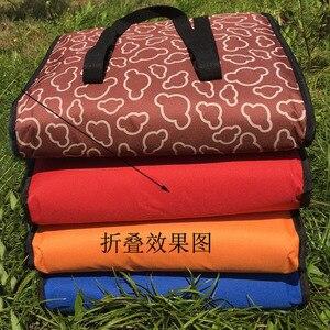 Image 2 - 14 بوصة كبيرة الحرارية حقيبة لتوصيل البيتزا سميكة حقيبة للحفاظ على البرودة معزول البيتزا حقيبة التخزين الطازجة الغذاء تسليم الحاويات 45x45x40 سنتيمتر