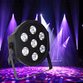 Dj americano LED SlimPar 7 x 9 W RGB 3IN1 LED DJ Wash luz Stage Uplighting No Noise