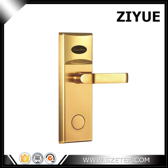 Discount! SAFE RFID CARD Hotel Key Card Lock Electronic  for 3 Star Hotel ET101RF hotel lock system rfid t5577 hotel lock gold silver zinc alloy forging material sn ca 8037