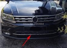 Para 2016 2017 2018 VW Tiguan mk2 Europa versión Inferior Delantera Parachoques racing grill Moldeo ajuste de La Cubierta