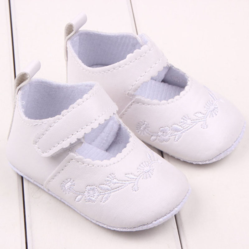 Newborn Baby Girl Shoes First Walkers Lovely Sneakers Infant Kids Girls Princess Shoes