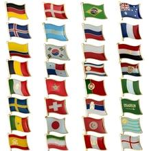 Bandera Nacional Metal Pin insignia broche decorativo pines para ropa broche joyería Rozetten papel-in Broches from Joyería y accesorios on Aliexpress.com | Alibaba Group