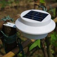 2ชิ้น/ล็อต3 Bright LEDพลังงานแสงอาทิตย์ขับ