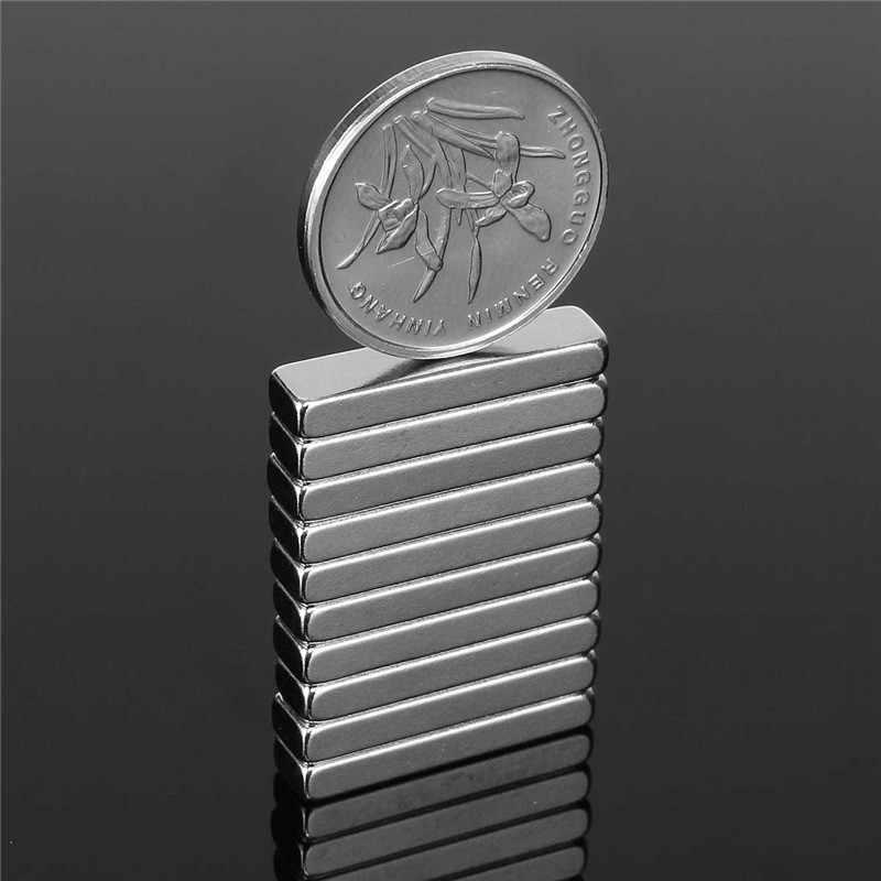 10 шт. 20 мм x 5 мм x 3 мм N50 сильные блочные Магниты редкоземельные неодимовые магниты сильный кубовидный Permenent магнит 20x5x3 мм горячая распродажа