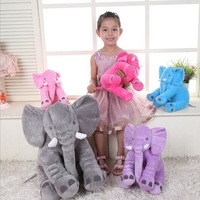 Hot 1pc 40cm fashion baby animal elephant style doll stuffed elephant plush pillow kids toy children.jpg 200x200