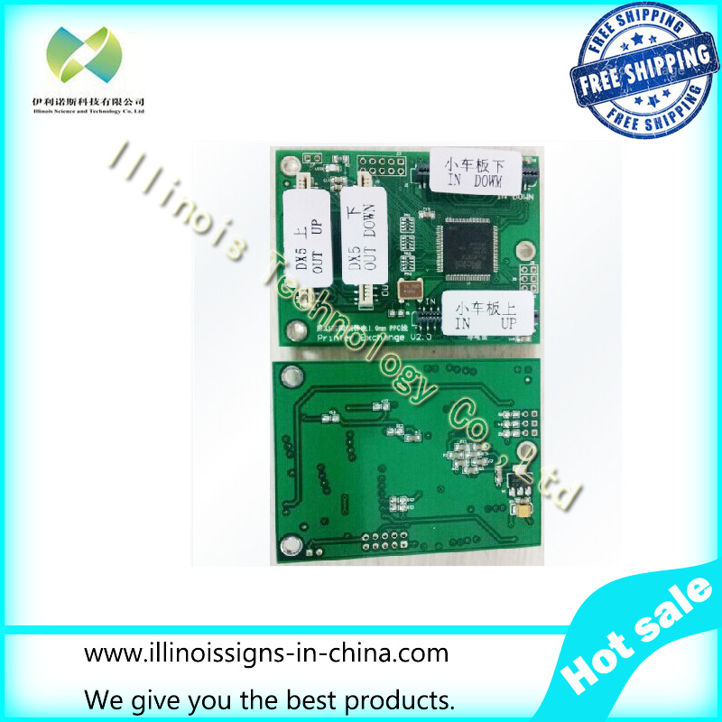 ФОТО Free shipping DX5 Print Head Decryption Card For printer Head Decoder  for DX5 186000 first locked