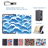 Illustration Art Painted Top Quality Smart PU Leather Cover For Samsung Galaxy Tab S2 9 7
