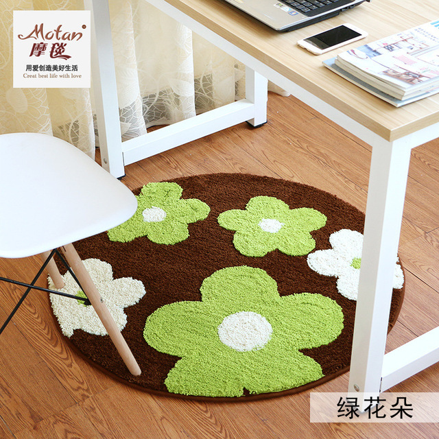 Lovely Creative Tea Table Circular Round Carpet Study Living Room Extraordinary Best Living Room Carpet Creative