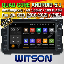 WITSON Android 5 1 CAR DVD GPS for KIA CEED VENGA car stereo Android car dvd