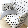Crib Bumpers 5pcs Set 17 Styles Cotton Baby Bed Bumper Liner Baby Cot Sets Bed Around