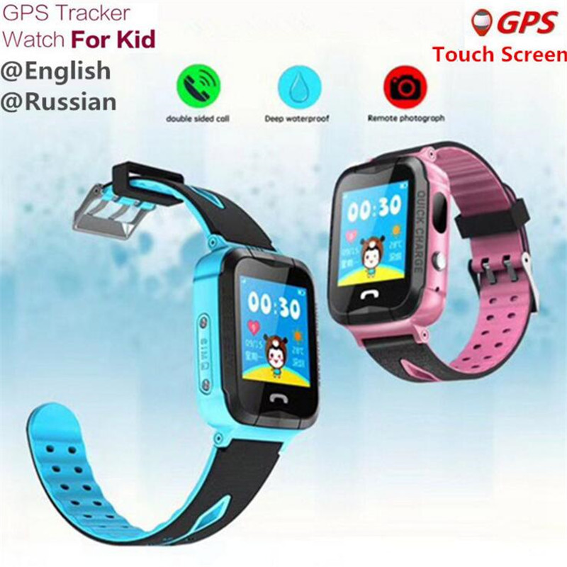 English GPS Kids Watches Baby Russian Smart Watch Children SOS Call Location Finder Locator Tracker Anti Monitor Smartwatch F43 smart baby watch g72 умные детские часы с gps розовые