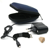 Mini Digital Hearing Aid Rechargeable Sound Amplifier Elderly Deaf Volume Tone Listen Hearing Assistance Ear Aids