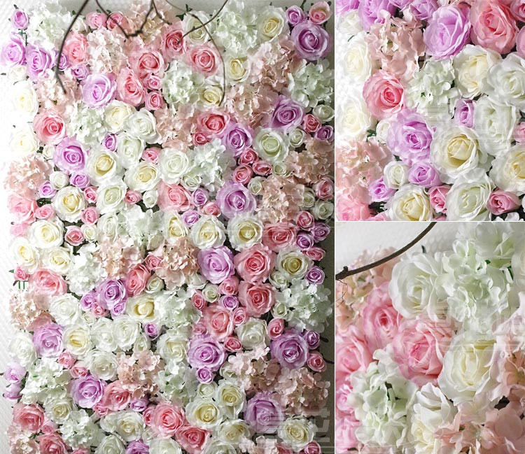 Plastic Artificial Flower Holder For Wall And Arch Wedding Decoration 60 40cm In Dried Flowers From Home Garden On Aliexpress Alibaba