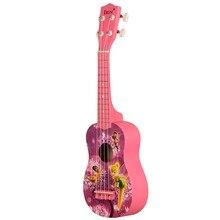 21-дюймовое укулеле красного дерева, 4 строки басвуднакладка Акустическая гитара; музыкальные инструменты R небольшой ra миниатюрная гитара укулеле концерт