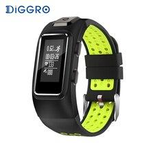 Фотография Diggro DB10 Smart Band GPS Tracker Smart Bracelet Heart Rate Monitor Waterproof Sport Wristbands Sleep Tracker For Android IOS