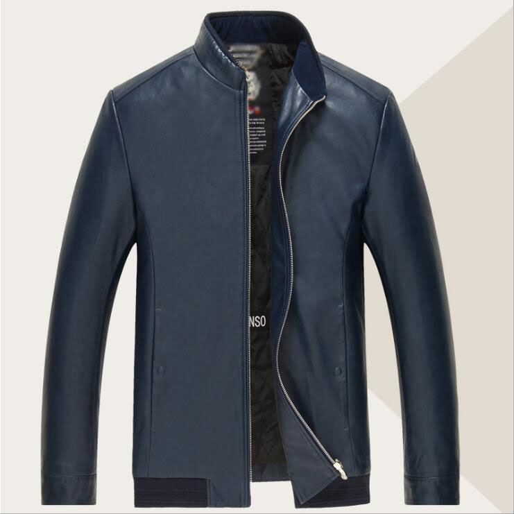 The New Old Men Leather Jacket Brand Leisure High Quality Men's Pu Leather Jacket Fur Coat M-4XL