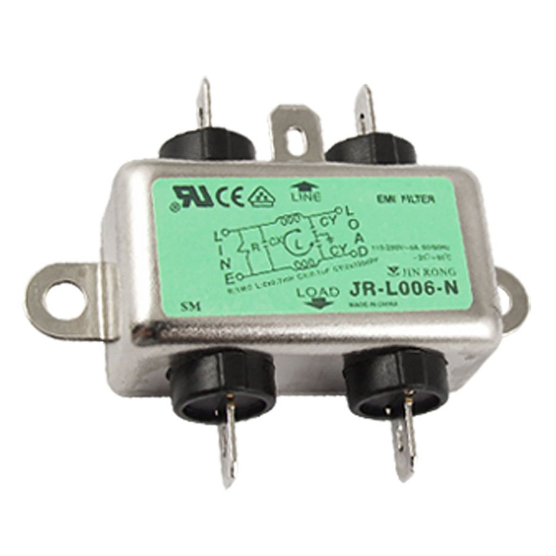 PROMOTION!Solder Lug Terminal 6A 115/250VAC Power Line EMI Filter power line filters 3a 250vac 50 60hz wire leads fn2010 3 07 page 9