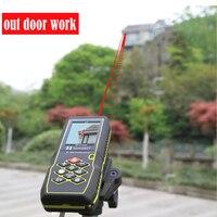 digital laser distance trena laser range finder display Distance,60M Laser Distance meter Rangefinder 80M 100M laser measuring