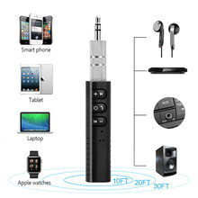 Mini Wireless 4.1 Bluetooth Adapter Dongle Receiver AUX 3.5mm Jack Audio Music Stereo Car Portable 2.4Hz for computer headphones(China)