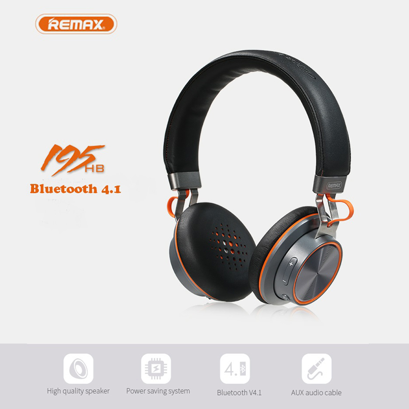 все цены на REMAX RB-195B Wireless Bluetooth4.1 Headphone Earphone Headset  Sport Studio HIFI Bass Resonance Stereo Strong Noise-Cancelling онлайн