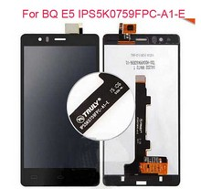 For BQ Aquaris E5 HD IPS5K0759FPC-A1-E Full LCD Display + Touch Screen Digitizer Assembly New E5 Touch Panel Replacement