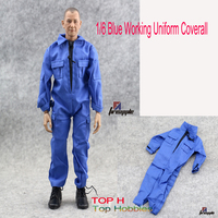 1 6 Scale Figure Apparel Series Male Blue Engineer Workers Coverall Astronaut Suits For 12 Action