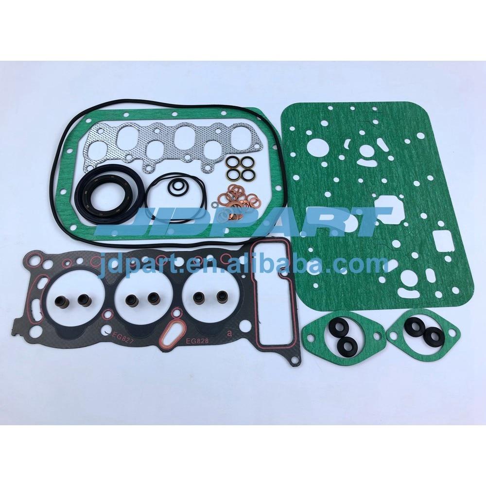 medium resolution of 3kc1 engine rebuild gasket kit cylinder head gasket set for isuzu