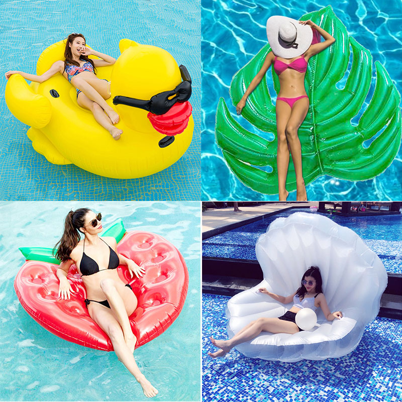 Inflatable Swimming Ring Giant Pool Adults Pool Float Mattres Swimming Circle Life Buoy Raft Boy Swimming Pool SWIMMING POOL Toy