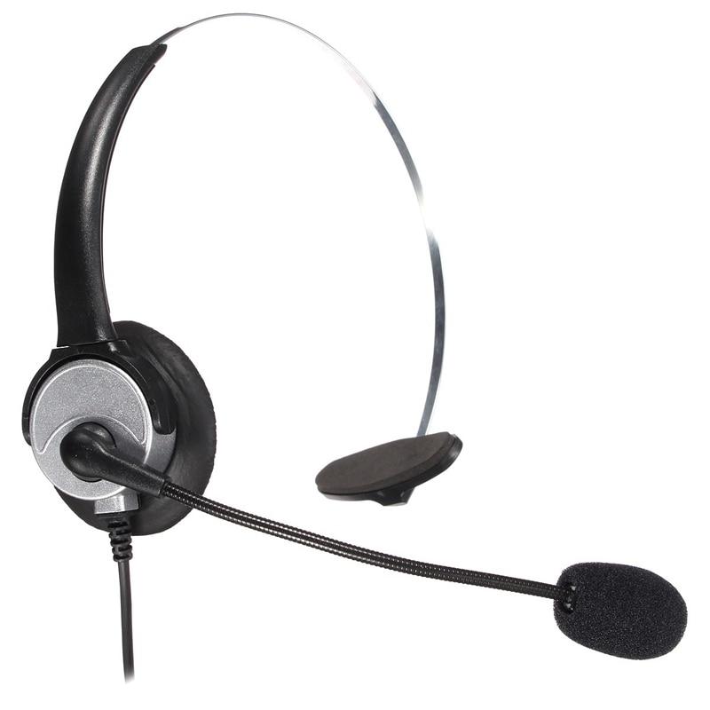 LEORY RJ11 Büro Call Center Kopfhörer Telefon Noise Cancelling ...