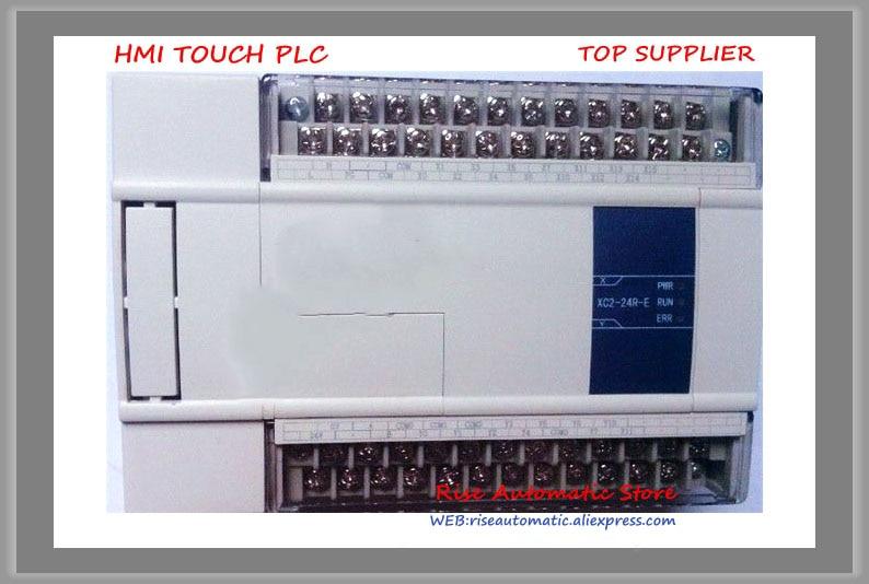 New Original 14point NPN input 10point transistor output XC2-24T-C PLC DC24V 3COM& new original 14 npn input 10 transistor output xd3 24t e plc