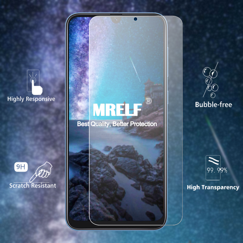 Image 2 - Tempered Glass for Samsung A50 A70 A40 A30 Screen Protector on Protective Glass for Samsung Galaxy A50 A60 A80 A10 A20 A90 Glass-in Phone Screen Protectors from Cellphones & Telecommunications