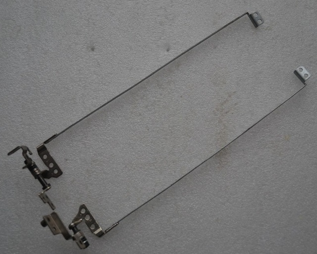 New Laptop LCD Screen Hinges left right for Lenovo G460 G465 Z460 AM0BN000300 AM0BN000200 Free Shipping