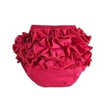 Free shipping wholesale baby cotton bloomers,cute pants,tutu design infant ruffle pants, dress pants hot retail X-47