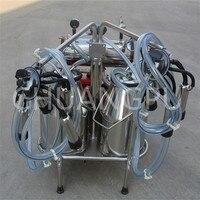 Два ведра Diesel Двигатели для автомобиля Портативный доильный аппарат для коровы/крупного рогатого скота/Коза/Буффало/овец/Camel