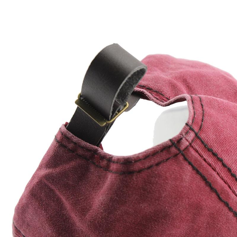 [FLB] Yeni Pamuk Beyzbol Şapkası Koşu Monte Mektubu Spnapback Yaz - Elbise aksesuarları - Fotoğraf 6