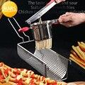 Footlong 30 см машина для приготовления картофельных чипсов из нержавеющей стали ручной резак для картофеля фри супер длинный картофель фри