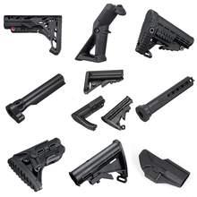 Нейлоновый Шток/ручка/кобура/буферная трубка для JinMing 8th M4A1 гелевый шар бластерские игрушечные пистолеты