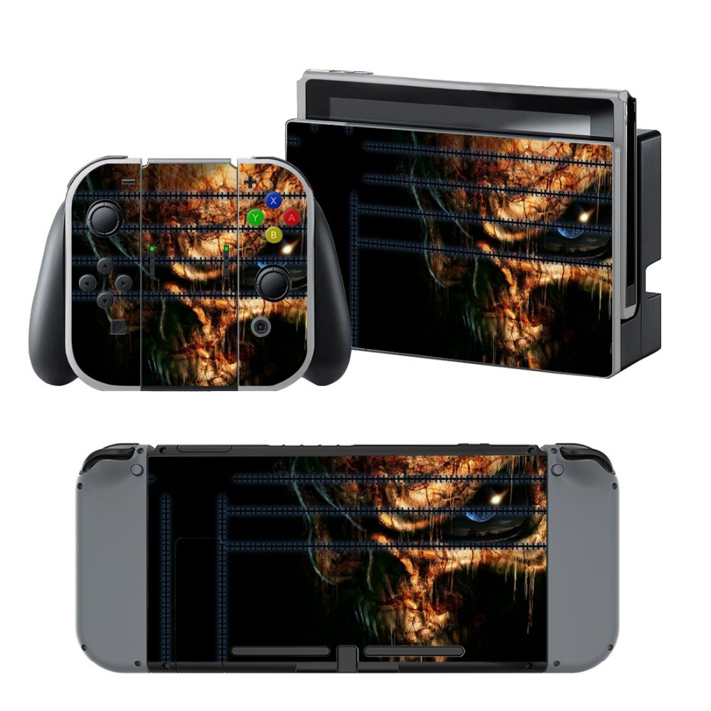 Newly Arrival Vinyl Skin Sticker for Nintendo Switch Console Protector Cover Decal Vinyl Skin for Skins Stickers 0063