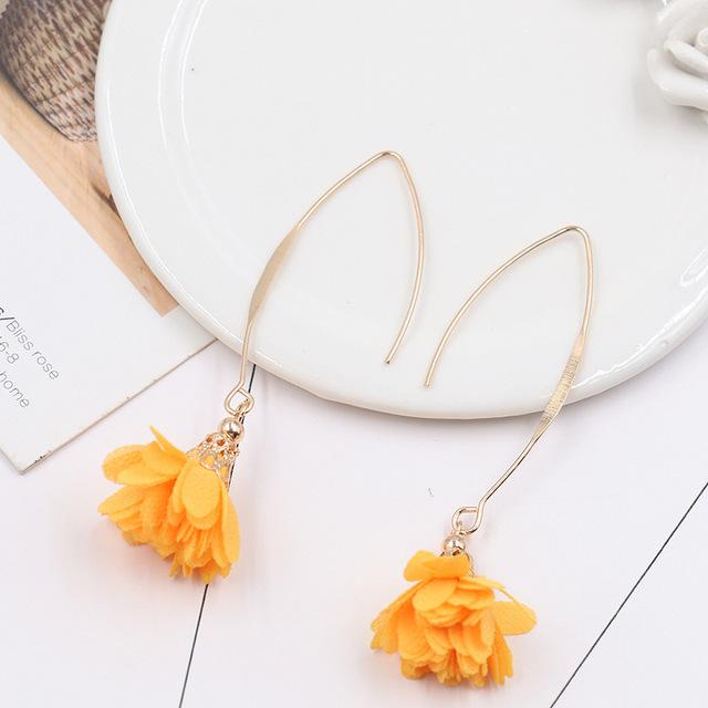 Women's Fashion Flower Earrings