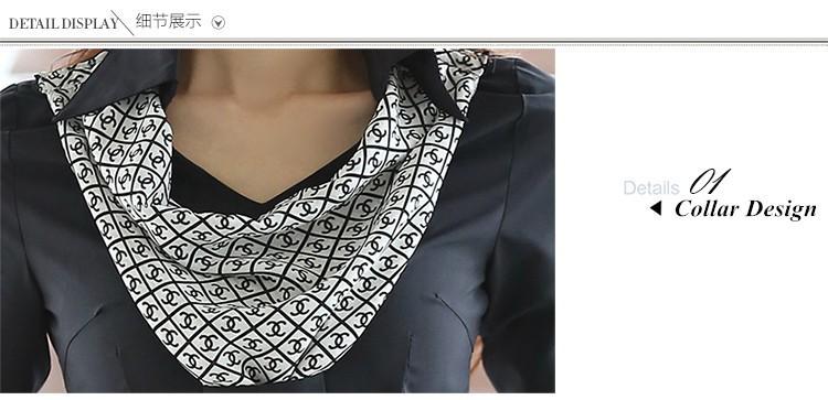 HTB14uWxJpXXXXcFXXXXq6xXFXXX7 - Women's shirt slim formal scarf collar long-sleeve blouses